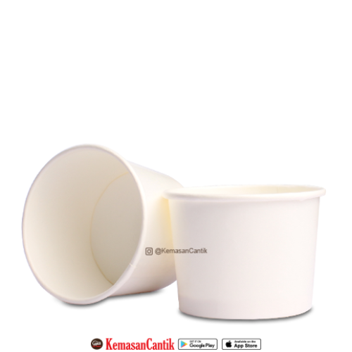 PAPER CUP ICE CREAM 4 OZ