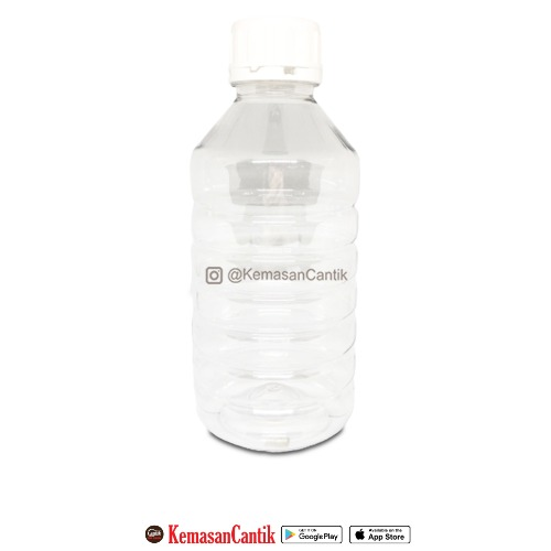 BOTOL PUPUK PET 1000 CC NATURAL