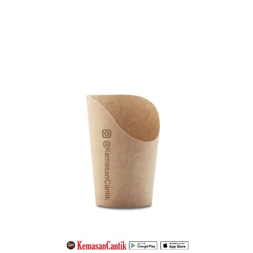 BROWN PAPER CUP (CHIP) UK M
